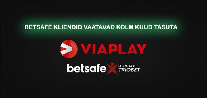Tasuta Viaplay spordipakett Betsafe Eesti konto avamisel