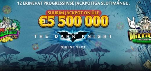 Kingswin Kasiinos ootavad suurimad jackpotid.
