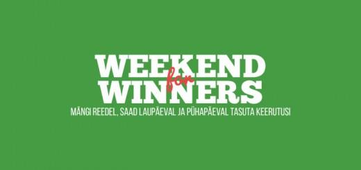 Võitjate Nädalavahetus Pafis - kuni 25 tasuta spinni