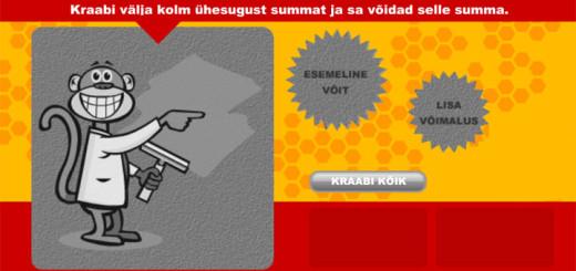 Mängi Funky Monkey kraapekaarti ja võid võita iPad Air tahvelarvuti või kuni 5000 eurot sularaha
