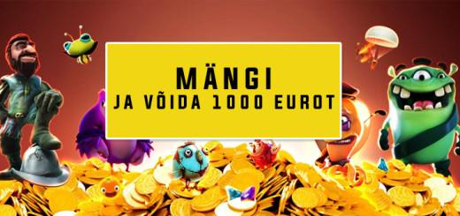 Paf Lucky Sunday - Võida 1000 eurot!