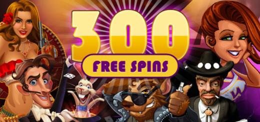300 tasuta keerutused Kingswin kasiinos
