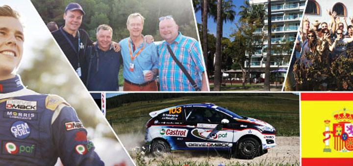 Võida Club Paf reis Hispaania WRC rallile
