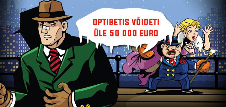 Õnnelik Optibeti mängija võitis nädalaga üle 50 000 euro