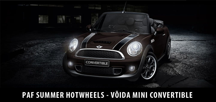 Paf Summer Hot Wheels - Võida Mini Convertible ja hunnik sularaha