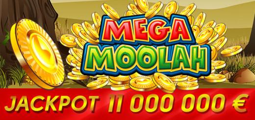 Võida tasuta Mega Moolah jackpot