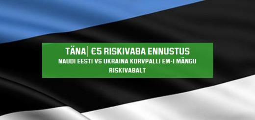 Eesti vs Ukraina Korvpalli EM riskivaba ennustus