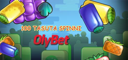 OlyBetis nädalavahetusel 100 tasuta spinni