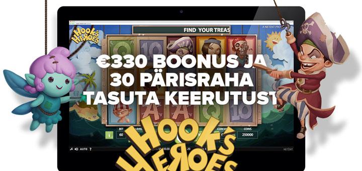 Optibetis 330-eurone boonus ja tasuta spinnid
