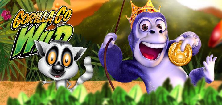 Optibetis Gorilla Go Wild Boonus ja Tasuta Keerutused