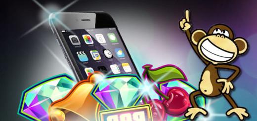 Paf Funky Monkey kiirloterii - võida iPhone 6 Plus