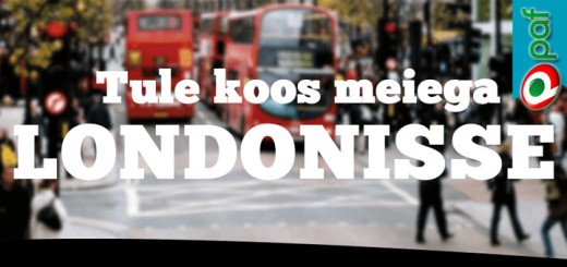 Võida Club Paf reis Londonisse