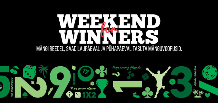 Võitjate nädalavahetuse ja tasuta keerutused Pafis