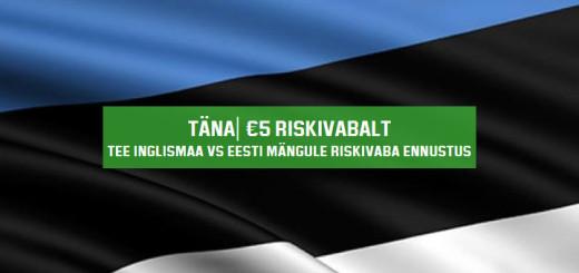 Eesti-Inglismaa valikmängu riskivaba ennustus