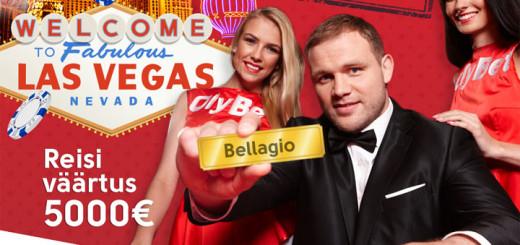 OlyBeti sügiskampaania - võida reis Las Vegasesse
