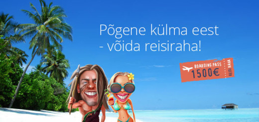 Võida Chanz Kasiinos €1500 reisiraha