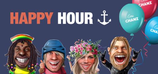 Chanz Kasiino Happy Hour tasuta spinnid ja boonused
