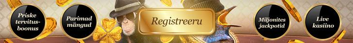 Maria Kasiino - Registreeri konto
