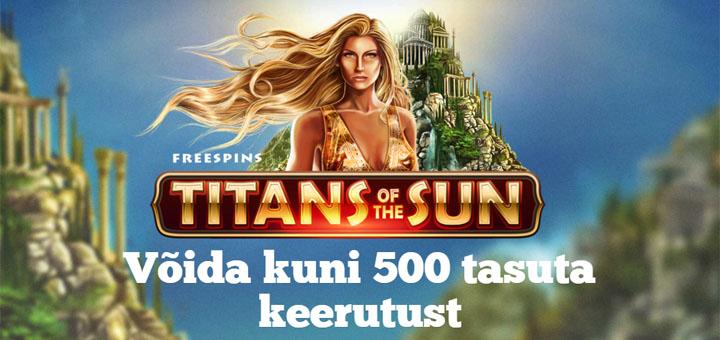 Titans of the Sun tasuta keerutused