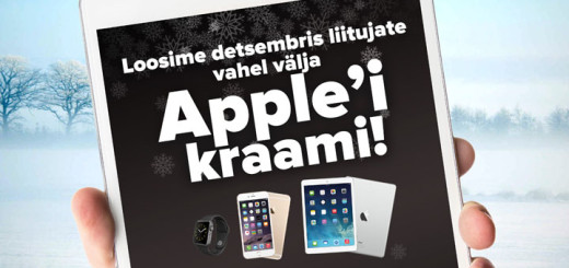 Apple auhindade loosimine Optibetis