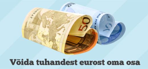 Lucky Sunday - osale 1000 euro loosimisel