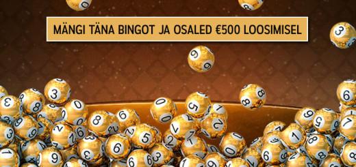 Mängi Marias netibingot ja osaled 500 euro loosimisel