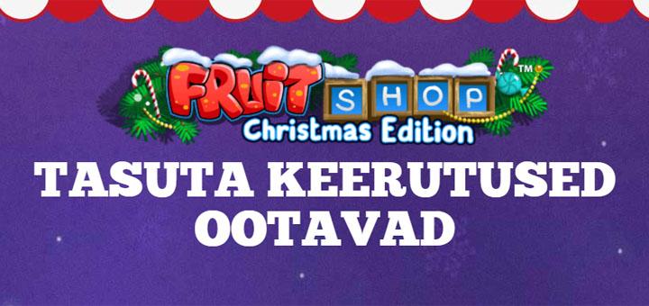Maria Casinos tasuta keerutused mängus Fruit Shop