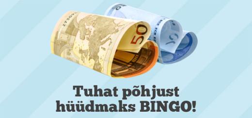 Paf loosib välja 5x200 eurot
