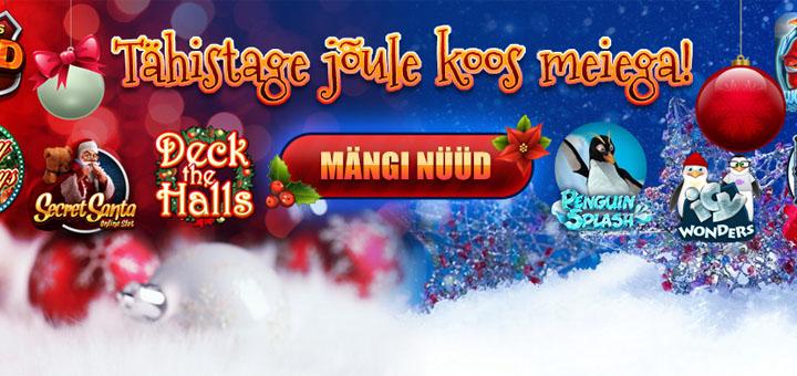 Tähista jõule koos Kingswini vingete jõulumängudega