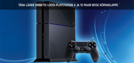 Unibet Spordiennustus - võida Playstation 4 või Bose Kõrvaklapid