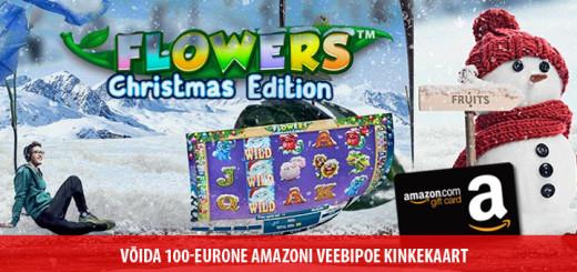 Võida 100-eurone amazoni veebipoe kinkekaart