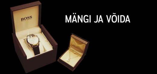 Võida Hugo Bossi käekell ja Kohinoori teemantkaelakee