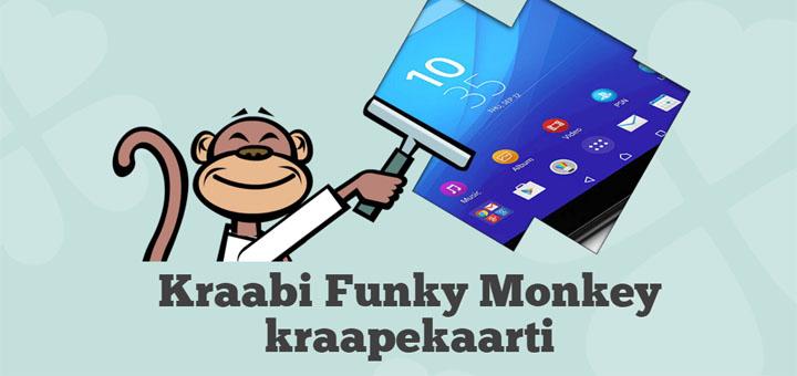 Funky Monkey kraapekaart - võida Sony Xperia Z4