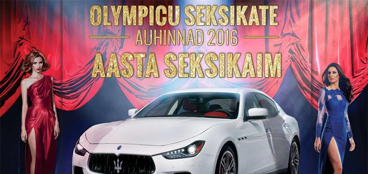 Olympic Casino seksikate auhinnad 2016