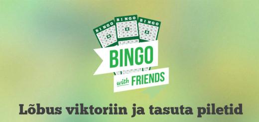 Tasuta Paf Bingo viktoriin ja tasuta piletid