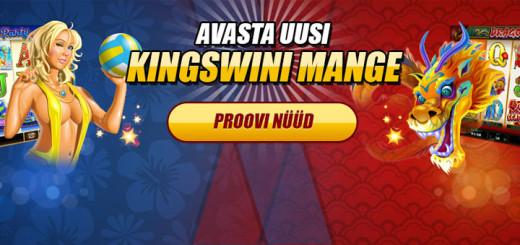 Kingswin kasiino uued slotimängud