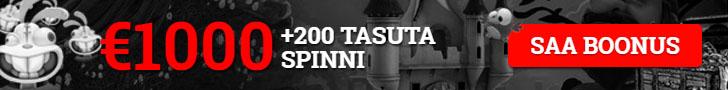 Optibet kasiinos 1000-eurone boonus ja tasuta keerutused
