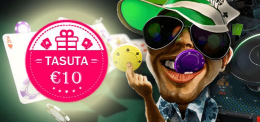 Unibet Pokker tasuta 10-eurone pokkeripilet