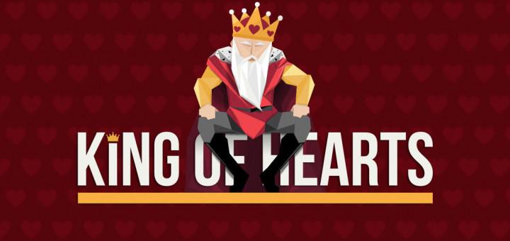 King of Hearts pokkerikampaania