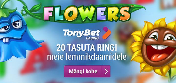 Naistepäev 2016 tasuta keerutused TonyBet kasiinos