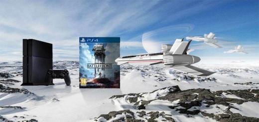 Playstation 4 koos mänguga Star Wars Battlefront