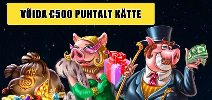 Chanz Kasiino loos - võida 500 eurot