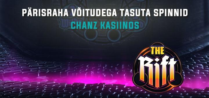 Chanz Social Casino pärisraha võitudega tasuta spinnid
