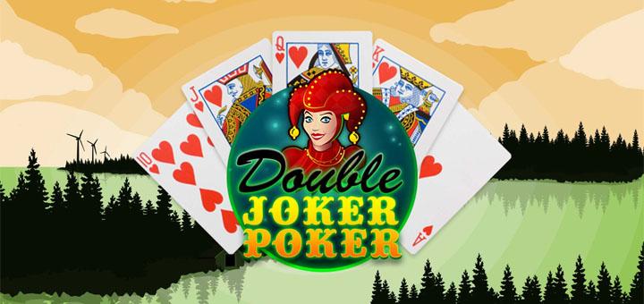 Double Joker Poker tasuta mänguvoorud ja pokkeripakettide loos