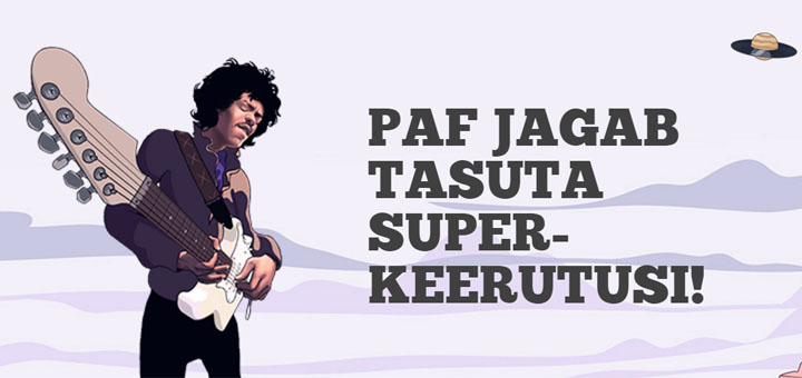Jimi Hendrix tasuta keerutused ja superkeerutused Paf kasiinos