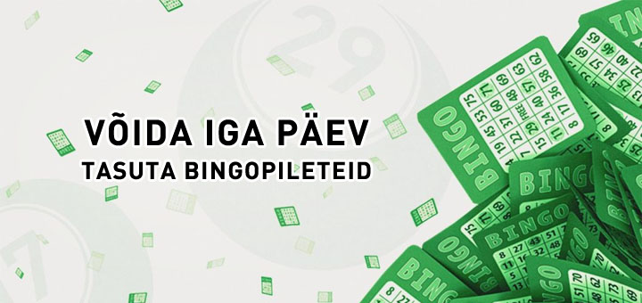 Paf Bingo Week - võida iga päev tasuta bingopileteid
