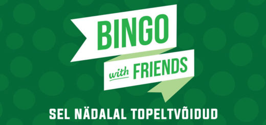 Paf Bingo with Friends topeltvõidud
