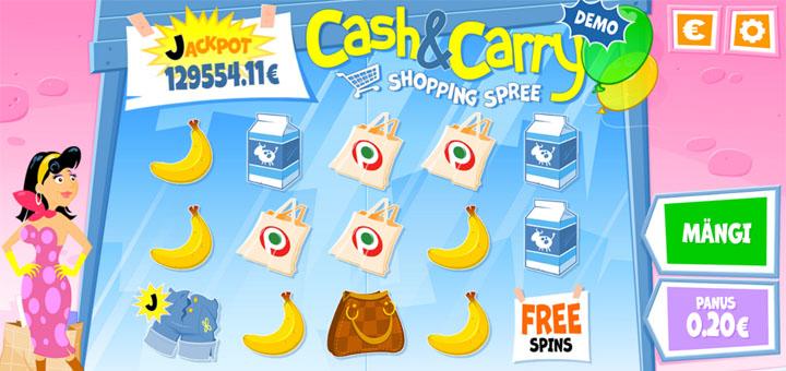 Paf Cash and Carry Shopping Spree - võida reis Gibraltarile või tasuta spinnid