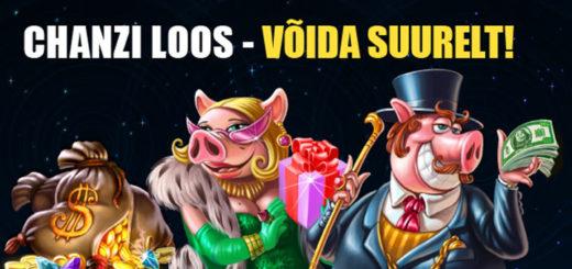 Chanz Casino nädalaloos - võida 500 eurot