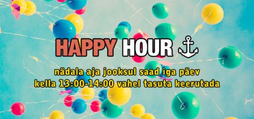 Chanz Kasiino Happy Hour tasuta keerutused
